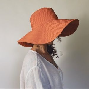 SAN DIEGO Hat Company Orange Wide Brim Sun Hat